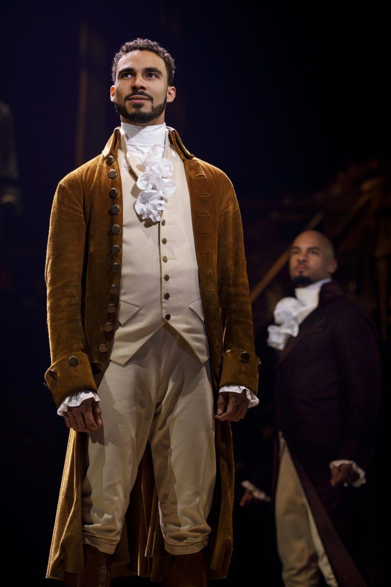 Young Alexander Hamilton arrives to New York City.