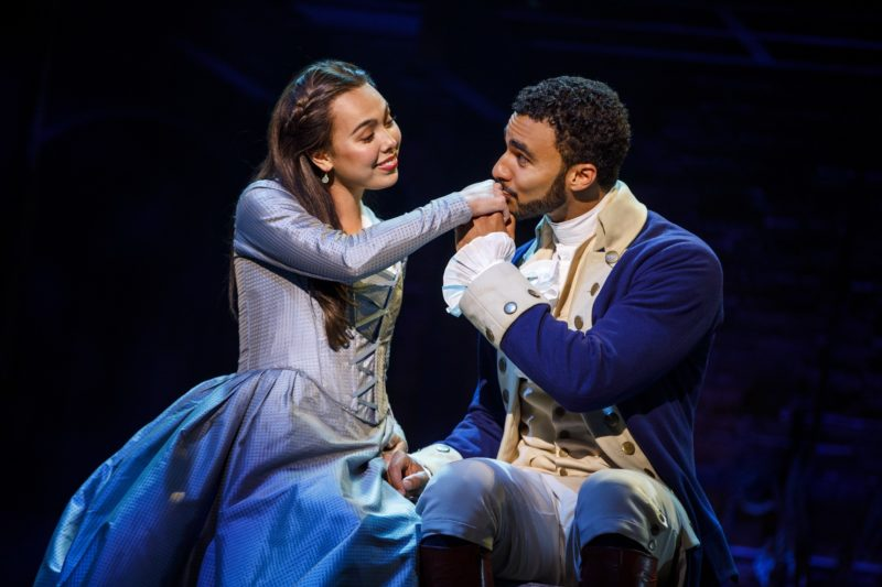 Alexander Hamilton woos future wife, Eliza.