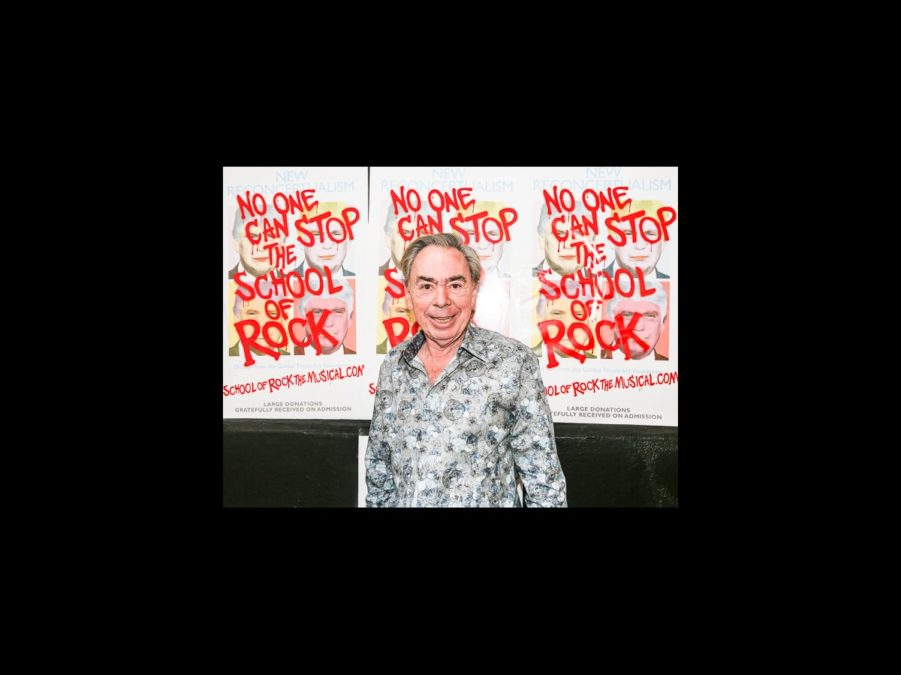 OP - School of Rock - wide - Andrew Lloyd Webber -10/15