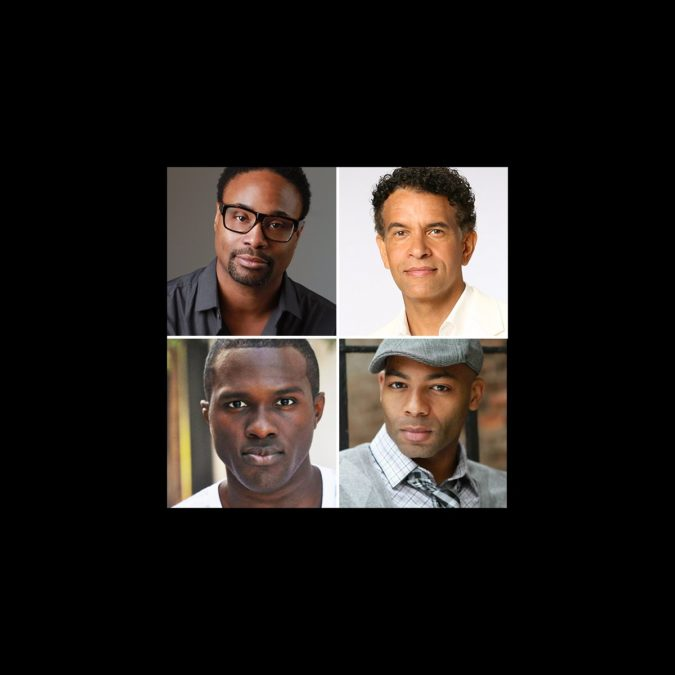 Billy Porter - Brian Stokes Mitchell - Brandon Victor Dixon - Joshua Henry - wide - 8/15