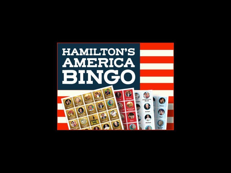 Hamilton's America Bingo - Anthony Mendoza - 10/16