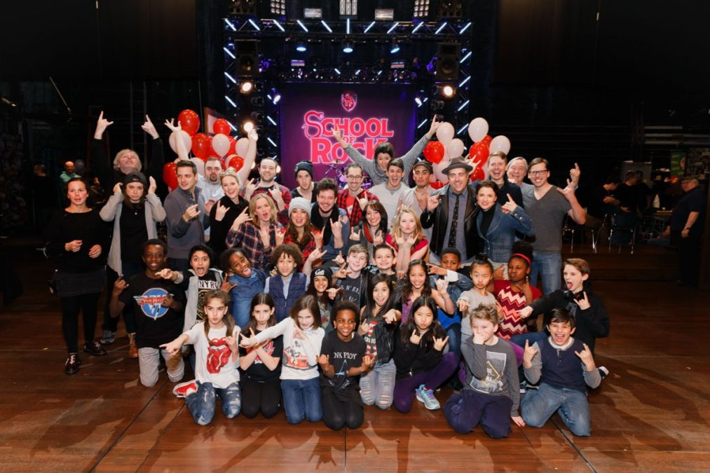 HS - School of Rock - One Year Celebration - Full Company - Emilio Madrid-Kuser - 12/16