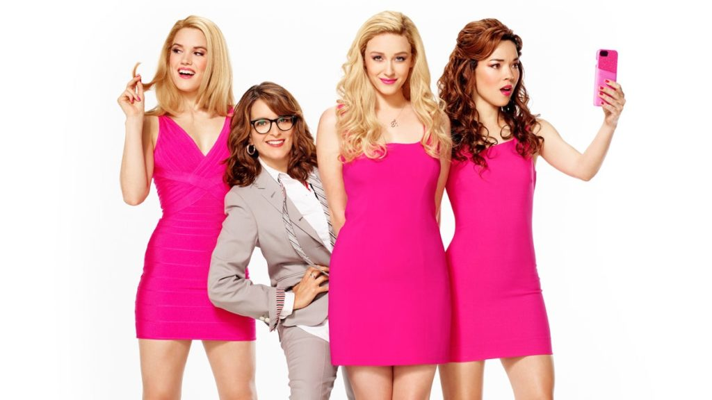 Mean Girls tour - Jonalyn Saxer as Karen - Tina Fey - Mariah Rose Faith as Regina George - Megan Masako Haley as Gretchen Wieners - 07/2019 - Mary Ellen Matthews