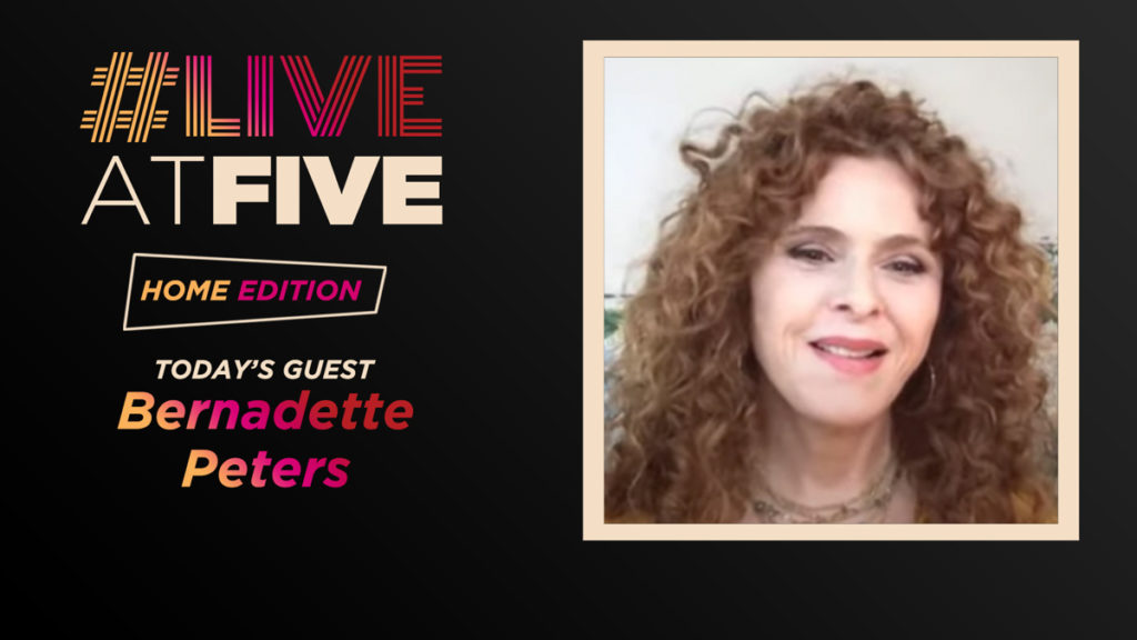 Live at Five - Bernadette Peters - 4.3