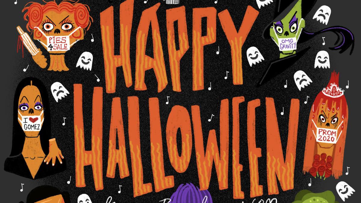 Halloween 2020 - Illustration - Ryan Casey
